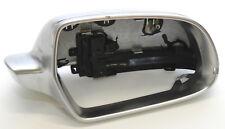 Original Audi a4 s4 rs4 8k a5 s5 Chrome Miroir Bouchons miroir extérieur droit alu
