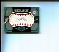 Jeff Niemann Tampa Bay Rays 2005 Sweet Spot Signatures Signed Autograph Card