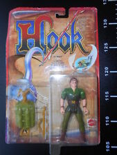 CAPTAIN HOOK PIRATE PETER PAN Green ACTION FIGURE MATTEL