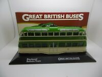 ATLAS EDITIONS GREAT BRITISH BUSES Blackpool Balloon Tram ref gj