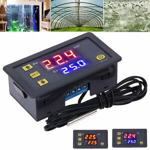 12V High Precision Digital Temperature Controller Thermostat -55~120℃ W3230