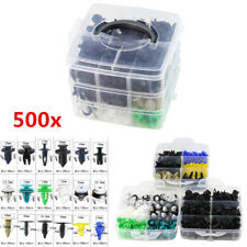 500x Universal Mixed Car Fastener Clip Door Panel Trim Bumper Fender Push Rivet