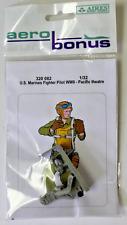 AERO Bonus Resin WWII US Marines Fighter Pilot, PTO,  1/32 320 082 ST