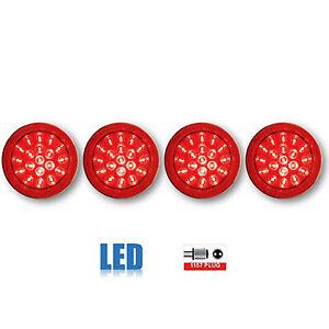 84 85 86 87 88 89 90 Chevy Corvette LED Rear Tail Light Lamp Lens 1984-1990 Set