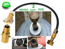 MINI HIDDEN LPG Filling Point to SHELL EUROPE Gas Propane Bottle M10 UK ADAPTER