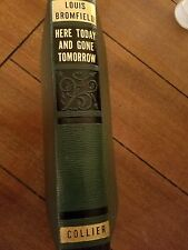 Here Today and Gone Tomorrow Louis Bromfield 1934 RARE Vintage Hard Cover