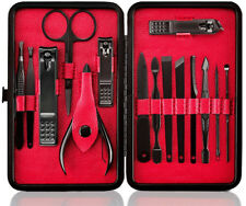 Personal Grooming Kit For Men Smart Travel Gifts Stainless Manicure Pedicure Set