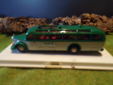 Brekina autobús Oldtimer autobús chocó Touring mercedes o5000 Plastik box 1:87 h0
