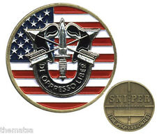 ARMY SPECIAL FORCES SNIPER THE PROFESSIONALS CROSSHAIRS MILITARY CHALLENGE COIN