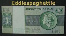 BRAZIL 1 CRUZEIRO 1980 UNC P-191a c