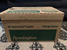 Brand New Remington 90 Blue Rock Clay Pigeons Skeet Shooting Targets Orange Dome