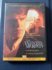 The Talented Mr. Ripley (Dvd, 2000, Sensormatic)