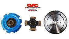 QSC VW Type 1 Clutch Kit 200mm 4-pad Rigid Disc + Lightweight Chromoly Flywheel
