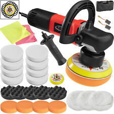 Máquina de pulir profesional excéntrico pulidora limpieza máquina 710w + 15 set