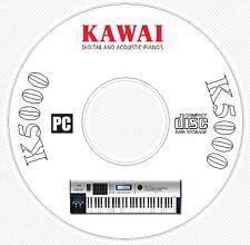 Kawai K5000 Synth Sound / Patch Library, Manual, MIDI Software & Editors CD