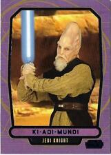 2013 Topps Star Wars Galactic Files Series 2 Blue Foil #427 Ki Adi Mundi 329/350