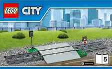 LEGO City Crossing with track - from 60098 Heavy Haul Train - No Box