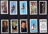 Cigarette cards Gerry Anderson Bassett UFO  1974 Mint set