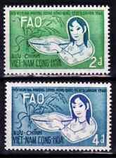 1960  VIETNAM DU SUD    Y & T   N° 151 et 152  Neufs *  AVEC CHARNIÈRE