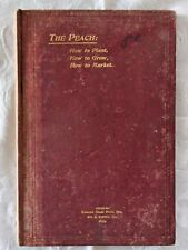 The Peach Compiled by the Kansas State Horticultural Society | 1899 1st Edition