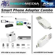 FlashDEPOT- Phone Multi Adapter Kit- Card Reader & USB OTG Adapter-USB Devices