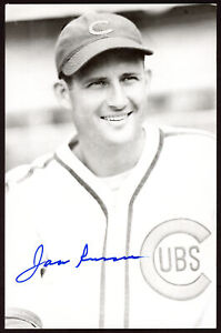 Jack Russell Authentic Autographed Signed 3.5x5.5 Postcard Chicago Cubs 153944