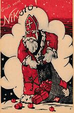 Nikolaus-Karte Gruß vom Nikolo   (1) - (D39)