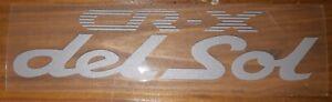 Honda CR-X Del Sol Genuine JDM Decal Civic CRX Rear Stickers Decales