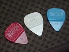 Vintage Martin Molded Guitar Picks- new old stock  Lot of 3 Picks Red White Blue