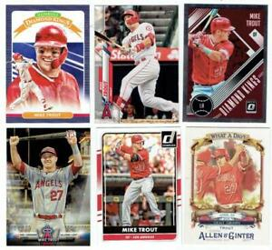 MIKE TROUT Angels ~ Lot with Inserts plus BONUS