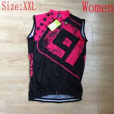 New Women Cycling Jersey Vest Summer Team Bike Shirt Sleeveless Bicycle Tops Xxl