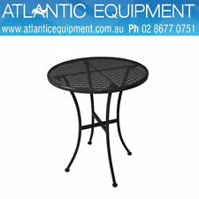 Steel Round Outdoor Tables