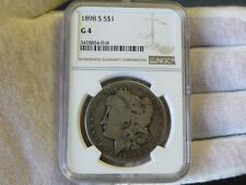 1898 S Morgan Silver Dollar - NGC G4 – Key Date!