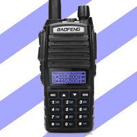 Baofeng UV-82X3 Tri-Band 2m/1.25m/70cm VHF UHF Dual PTT & Display Two way Radio