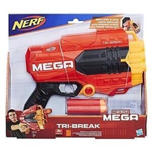 Brand New NERF N-Strike MEGA Elite TRI-BREAK Dart BLASTER