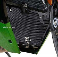 R&G Downpipe Grill for Kawasaki Ninja H2 SX '18-'19 | Black or Titanium