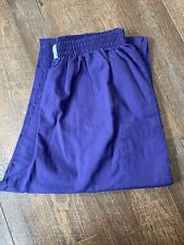 Cherokee Style 1035 Color Grape Scrub Pants Large