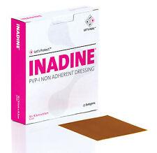 Inadine medicazione 9.5 cmX9.5 cm PVP iodio non aderente Dressing confezione da 10