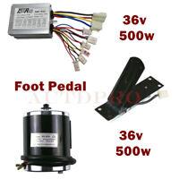 DC Unite 36Volt 500watt Brushed Electric Motor Pedal Speed Controller Box ATV