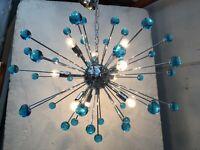UNIQUE GIGANTIC SPUTNIK CHANDELIER CEILING LAMP