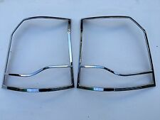 LAND ROVER FREELANDER 2 CHROME ABS TAIL LIGHT TRIM,2012-15.