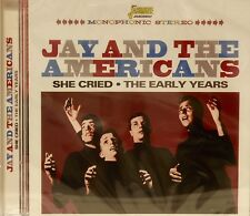 JAY AND THE AMERICANS 'She Cried - The Early Years' - 28 Tracks on Jasmine