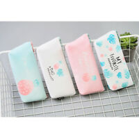 Pineapple Fruits Plastic Pencil Cases Cute Cosmetics Make Up Bags Pen Pouches