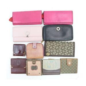 Celine Cartier Ferragamo Bvlgari Loewe  Wallet 11 pieces set 523760