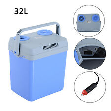 Portable 12V Electric Cooler Warmer Box Mini Fridge Refrigerator Car Travel 32L
