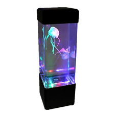 Jellyfish Tank Mood Light Aquarium Style Relaxing Colour Changing LED Desk Lamp