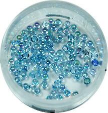Halbperlen 1.2mm  ca. 50 Stk. Pearl Glitzer Pearl Nail Art Hellblau #00572-07
