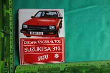 Alter Aufkleber Die spritzigen Autos SUZUKI SA 310