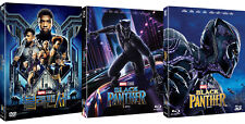 Black Panther - Blu-ray, 2D, 3D, DVD Slip Case Edition (2018) / Pick format
