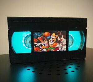 Space Jam Looney Tunes Retro VHS Night Light, Desk Lamp,LED, Bedroom Lamp, Kids